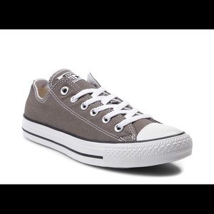 Gray converse sneakers!